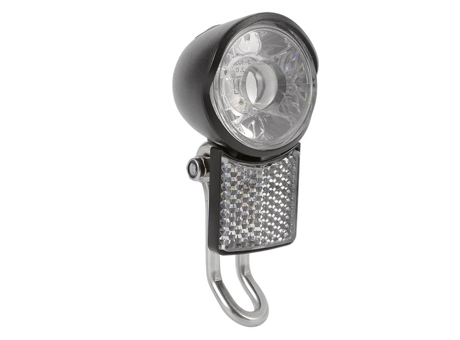 C2赛特莱特电动踏板车/ ebike /花鼓发电机前灯,德国StVZO前灯